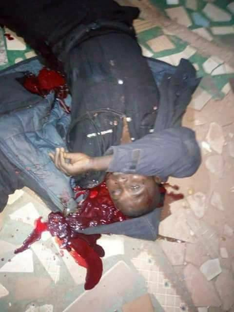 Policeman killed in an attack at a shopping mall in Katsina